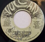 Roger Hallmark Signed And039a Message To Khomeiniand039 Vulcan M- Vinyl Rare 45rpm