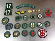 Lot Of 25 Vintage C.1938-47 Girl Scout Badges Patches And Pins, State College Pa