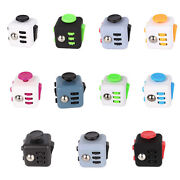 6 Sided Fiddle Fidget Cube Kids Toy Adults Stress Relief Adhd + Free Gift Box