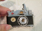 Vintage Collectible Mini Camera Design Kkw Cigarette Lighter And Compass