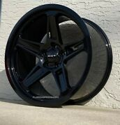 Gloss Black Dodge Demon Style Wheels 20x9.5/20x10.5 Fits Charger/challenger
