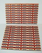 Vintage Air Mail Stickers American Heart Association Help Fight Heart Disease