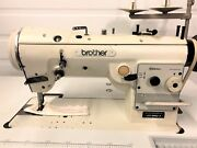 Brother Lz2-b852-3 High Speed Zig Zag W/reverse 110v Industrial Sewing Machine