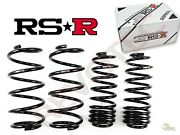 Rs-r Rsr Superdown Sus Lowering Springs For 1991-1999 Toyota Previa