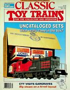 Classic Toy Trains Magazine April 1992 Uncataloged Sets What Really Came In Box