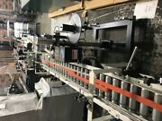 Little David Ls600dt Automatic Labelers With 70l X 9w Conveyors On 3 Centers