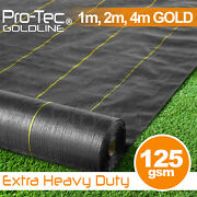 124m Extra Heavy Duty Garden Weed Control Fabric Ground Cover Membrane Sheet