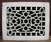Antique Cast Iron Heating Grate Vent Cover Hardware M M And F Milwaukee Wis 6x8