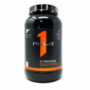 Rule One R1 Protein 100 Whey Protein Isolate 2lb 38 Serv Rule 1 Protein Powder
