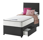 Single Divan Bed Set 3ft Drawer Option With Mattress For Kids Adults And Children
