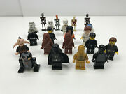 Lot Of Lego Star Wars Mini Figures Clone Troopers Dart Vader C-3po + More