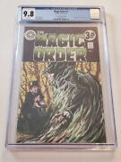 The Magic Order 1 Port City Comics Edition - Swamp Thing 1 Homage Cover Cgc 9.8