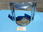 Wurlitzer Wallbox 5205 5207 Cover Only - Bad Nickel Or Chrome Plating Z