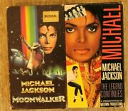 Michael Jackson - Moonwalker And The Legend Continues Vhs 1989/ 1988