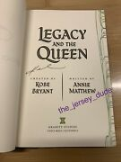 Kobe Bryant Autographed Signed Book Legacy And The Queen