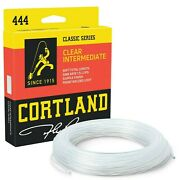 Cortland 444 Clear Intermediate Fly Line - All Sizes - Free Fast Shipping