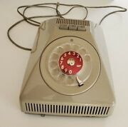 Rare Vintage Ericsson Ericovox Rotary Speaker Phone In Good Working Condition