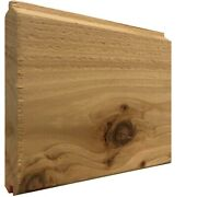 V One Side Tongue And Groove Timber Cladding 145x19mm - Western Red Cedar