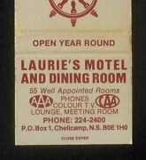 1970s Laurie's Motel And Dining Room Seafood 55 Rooms Chéticamp Cheticamp Ns Can