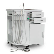 600w All In One 2/4h Dental Delivery System Cart Unit+curing Light+scaler 118l