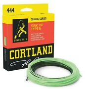 Cortland 444 Sink Tip Type 6 Fly Line - All Sizes - Free Fast Shipping