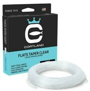 Cortland Flats Taper Clear Liquid Crystal Fly Line - All Sizes - Free Fast Ship