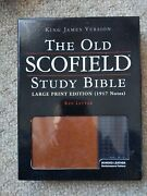 The Old Scofield Study Bible Large Print 1917 Red Letter Kjv