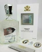 Creed Virgin Island Water 100ml Brand New In Box Authentic Fast Free Shipping