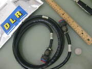 2 Pieces Northrop Grumman Electrical Power Cable P/n 284718-1 New