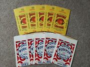 Vintage Peachey And Union Workman Chewing Tobacco Pouches Nos From Detroit Mi.