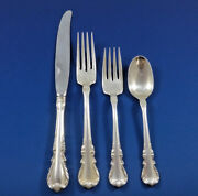 Melanie By Wallace Sterling Silver Dinner Flatware Service 8 Set 32 Pieces