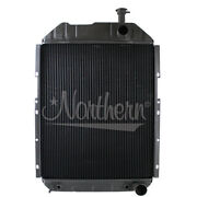 Ford New Holland Tractor Radiator Fits 7910 Late 8210 Part 219802 E1nn8005bd15m