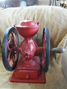 Antique Cast Iron Coffee Mill Grinder Enterprise Manufacturing Co.