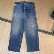 Vintage 1930s Us Army Denim Pw Prisoner M-1935 Pow Size M Free Shiipping From Jp