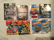 Hot Wheels Real Riders Mix Lot Of 8 Die Cast Cars