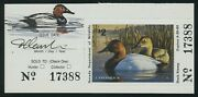 Nevada 10 1988 Canvas Back Duck Remarque And Artist Signed Xf Scarce Bv1778
