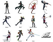 Figma Persona 5 Max Factory Tv Anime Role-playing Game Action Figure