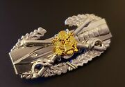Cavalry Eagle Combat Action Badge Us Army Cab Military Insignia Custom Pin