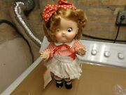 Vintage 2 Campbells Kids 18 Jointed Plastic Made In 1984 By World Doll Excl