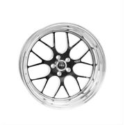 Weld Racing 77hb7100n72a Street And Strip 17x10and039and039 Black S77 High Pad 5x120mm New