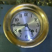 Chelsea Ship Bell Table Clock