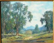 Mary Darter Coleman, B.1893 Ca Artist, Studied With Payne, Oil/canvas 24 X 30