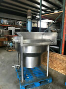 45 Top Id Stainless Steel Mixing Kettle Tank Mixer Bowl Mixing Agitator