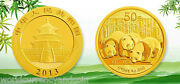 China 1 / 10 Oz 2013 Panda Gold Coin Unc Scarce Date Chinese Currency Money