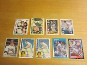 Greg Brock Lot Of 10 Trading Cards With 1 Rookie Mlb Baseball Dodgers Brewers