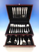 Virginian By Oneida Sterling Silver Flatware Set For 8 Service 52 Pieces