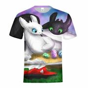 How To Train Your Dragon Tothless All-over Print Kids Youth T-shirt Casual Tops
