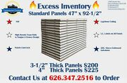 Standard Size Walk-in Cooler And Freezer Panels Made W/ 100 Us Made Materials
