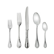 Marly By Christofle Paris France Sterling Silver 5 Piece Place Setting New