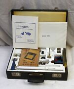 Vintage Phipps And Bird Physiology Kit W 70-922 Inductorium, Sealed 7005-401 Paper